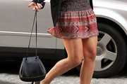 Jennifer Lawrence Studded Shoulder Bag