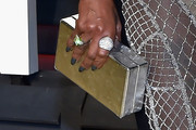 Mary J. Blige Box Clutch