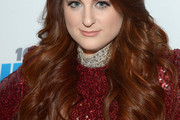 Meghan Trainor Long Wavy Cut
