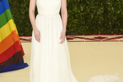 Dakota Fanning One Shoulder Dress