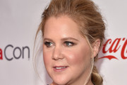 Amy Schumer Messy Updo