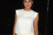 Emmanuelle Chriqui Loose Blouse