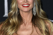 Heidi Klum Long Wavy Cut with Bangs