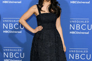 Auli'i Cravalho Embroidered Dress