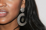 Megan Good Gold Dangle Earrings