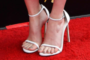 Mary Elizabeth Winstead Strappy Sandals