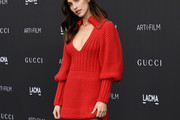 Rainey Qualley Sweater Dress