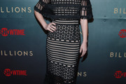 Maggie Siff Lace Dress
