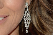 Elizabeth Hurley Diamond Chandelier Earrings