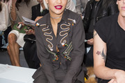 Rita Ora Button Down Shirt