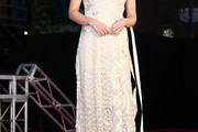 Laura Haddock Lace Dress