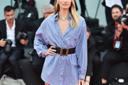 Candice Swanepoel Shirtdress