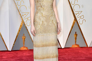 Emma Stone Fringed Dress