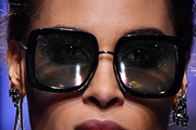 Cindy Bruna Square Sunglasses