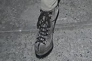Kelly Rowland Lace Up Boots
