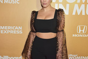Ashley Graham Crop Top