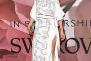 Olivia Palermo Embroidered Dress