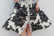 Lea Drucker Knee Length Skirt