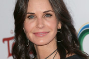 Courteney Cox Medium Wavy Cut