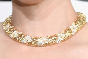 Reese Witherspoon Gold Collar Necklace