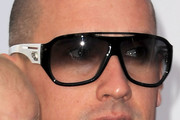 Carey Hart Designer Shield Sunglasses