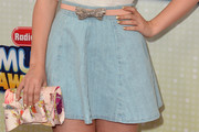 Dove Cameron Denim Skirt