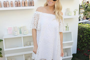 Lauren Conrad Off-the-Shoulder Dress
