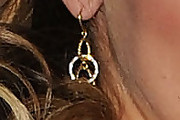 Jessica Aldean Gold Dangle Earrings