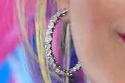 Rita Ora Diamond Hoops
