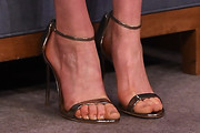 Taylor Schilling Strappy Sandals