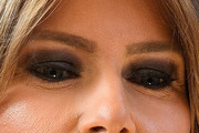 Melania Trump Smoky Eyes