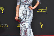 Leah Remini Evening Dress