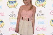 Emily Alyn Lind Strapless Dress