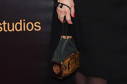 Parker Posey Metallic Purse