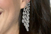 Anne Hathaway Diamond Chandelier Earrings