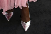 Lashana Lynch Evening Pumps