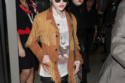 Frances Bean Cobain Suede Jacket