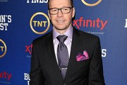 Donnie Wahlberg Dotted Tie