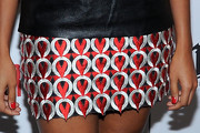 Angela Simmons Mini Skirt