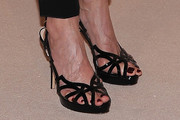Ellen Barkin Evening Sandals