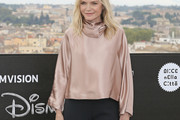 Michelle Pfeiffer Cowl Neck Top