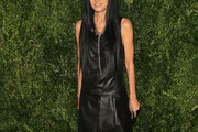 Vera Wang Leather Dress