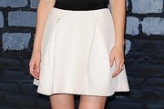 Alexandra Daddario Mini Skirt