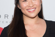 Jenna Ushkowitz Half Up Half Down