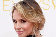 Keltie Knight Bobby Pinned updo
