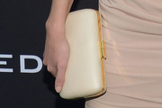 Bar Paly Satin Clutch