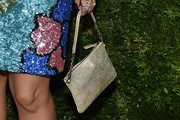 Ming-Na Wen Metallic Purse