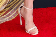 Amanda Seyfried Strappy Sandals