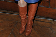 Melanie Thierry Knee High Boots