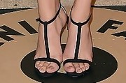 Chloe Grace Moretz Strappy Sandals